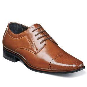 Stacy Adams Boys Sanborn Oxford Dress Shoes Sz 13